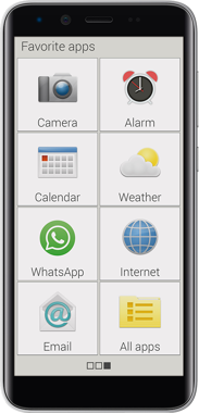 Emporia Smart S3 Mini 4G front
