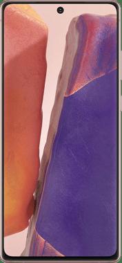 Samsung Galaxy Note 20 5G front