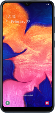 Samsung Galaxy A10 front